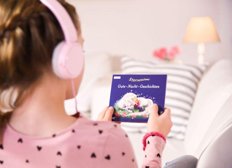 Sternenschweif Einhorn Geschichten zum Einschlafen als Hörbuch / Hörspiel. Einhornliebe, www.spielpferd.de