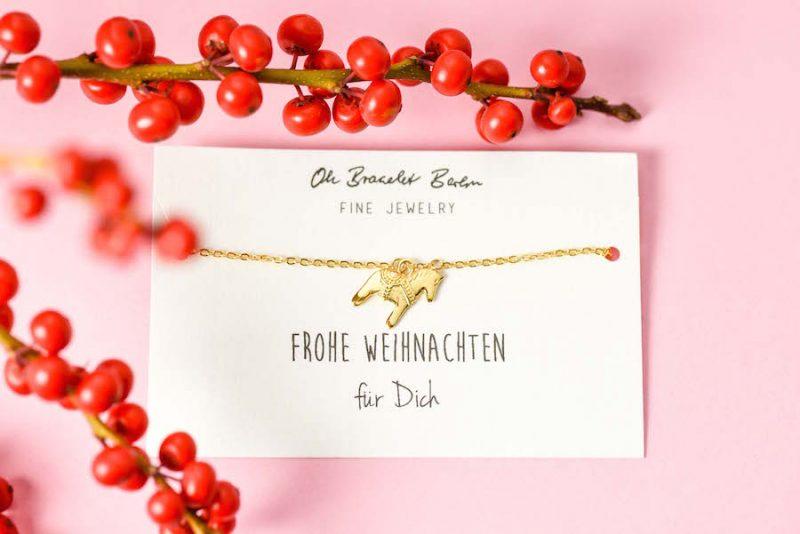 Dalapferd Armband von Oh Bracelet Berlin. Scmuck Pferd Pferdefreunde Geschenk für Pferdefreunde