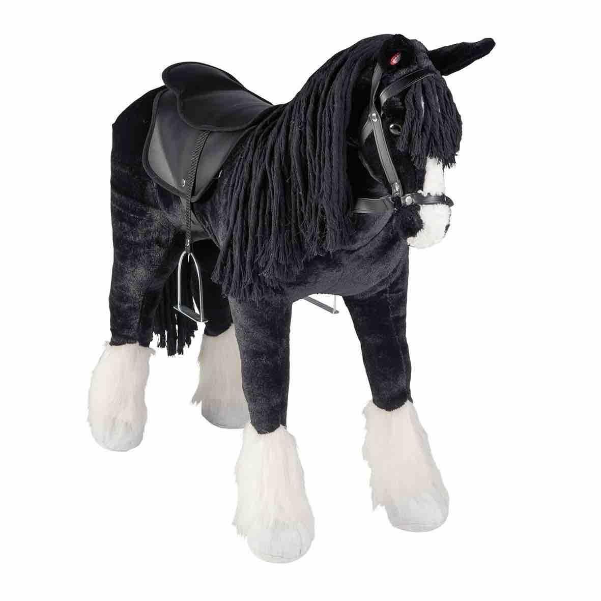 Happy People Pferd Shire Horse, ein wunderschönes Spielpferd zum Reiten.