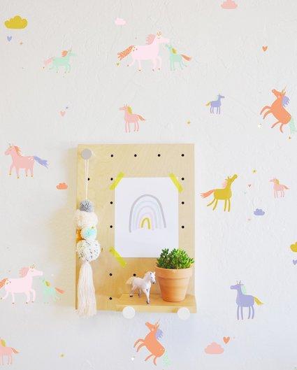 Wandtattoo Einhorn für das Kinderzimmer - Spielpferd.de